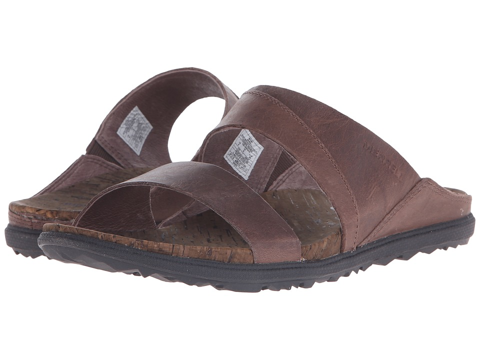 Merrell - Around Town Slide (Brown) Women's Shoes