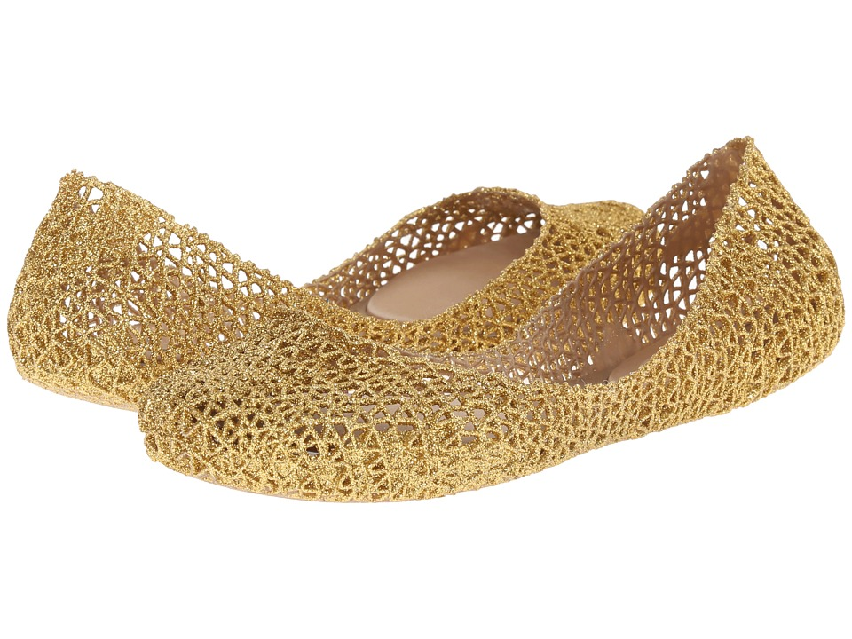 Melissa Shoes Campana Papel (Gold) Women