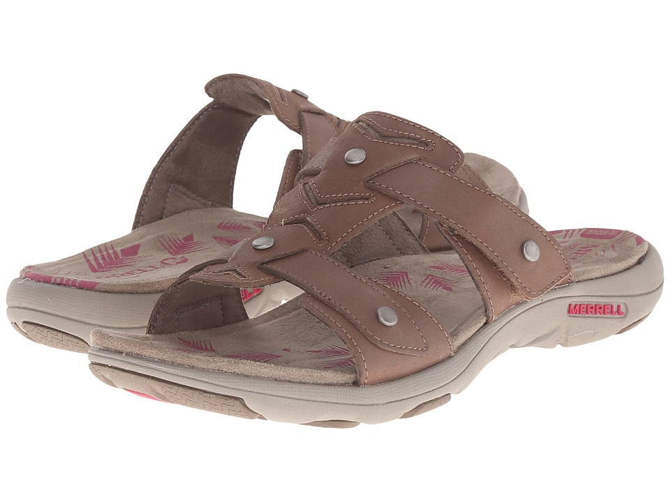 Merrell - Adhera Slide (Brown) Women's Shoes