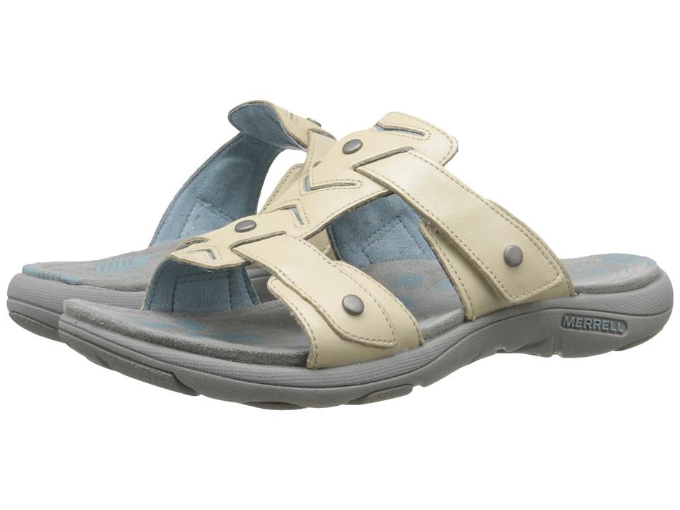 Best Price Merrell Adhera Slide Women Ivory Canada popular shoes