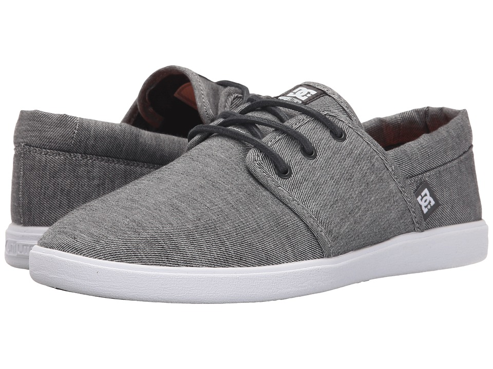 DC - Haven TX SE (Grey Ash) Men's Skate Shoes
