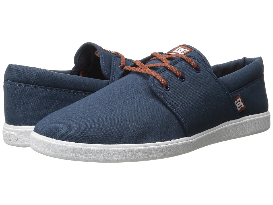 DC - Haven (Navy/Camel) Men's Shoes
