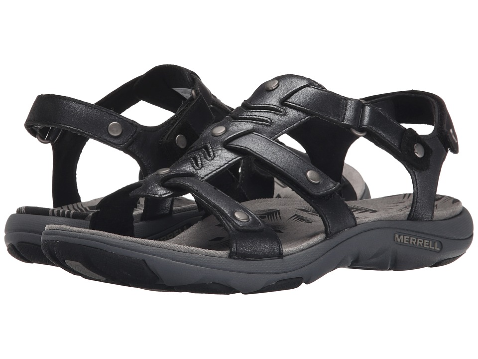 Merrell - Adhera Strap (Black) Women's Shoes