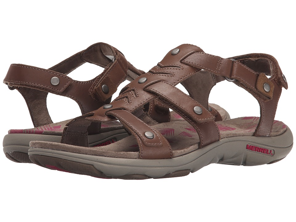 Merrell - Adhera Strap (Brown) Women's Shoes