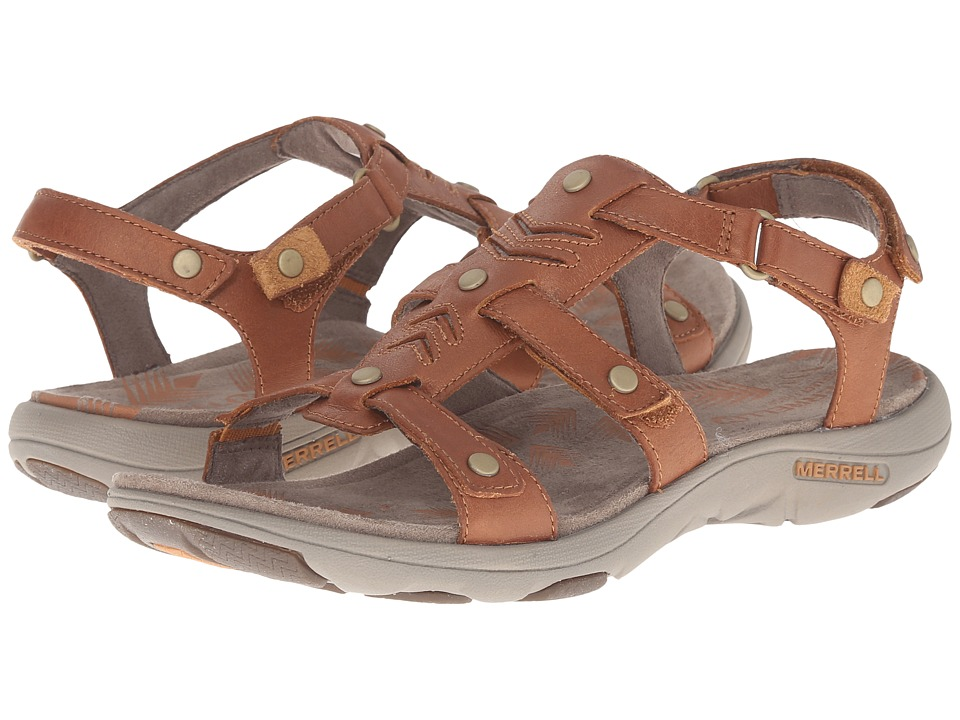 Merrell - Adhera Strap (Tan) Women's Shoes