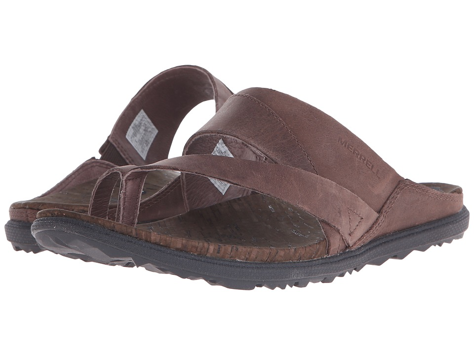 Merrell - Around Town Thong (Brown) Women's Shoes