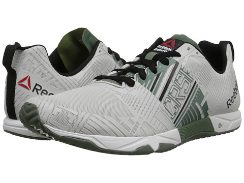 Reebok - Crossfit Sprint 2.0 (White/Silvery Green/Black) Men's Shoes