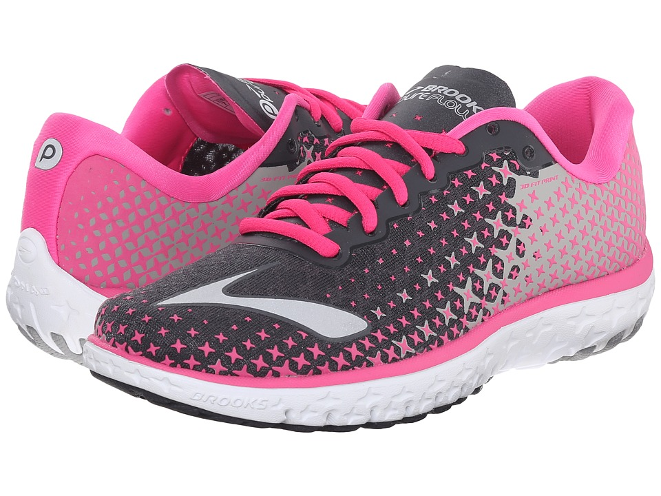 Brooks - PureFlow 5 (Anthracite/Pink Glow/Alloy) Women's Running Shoes