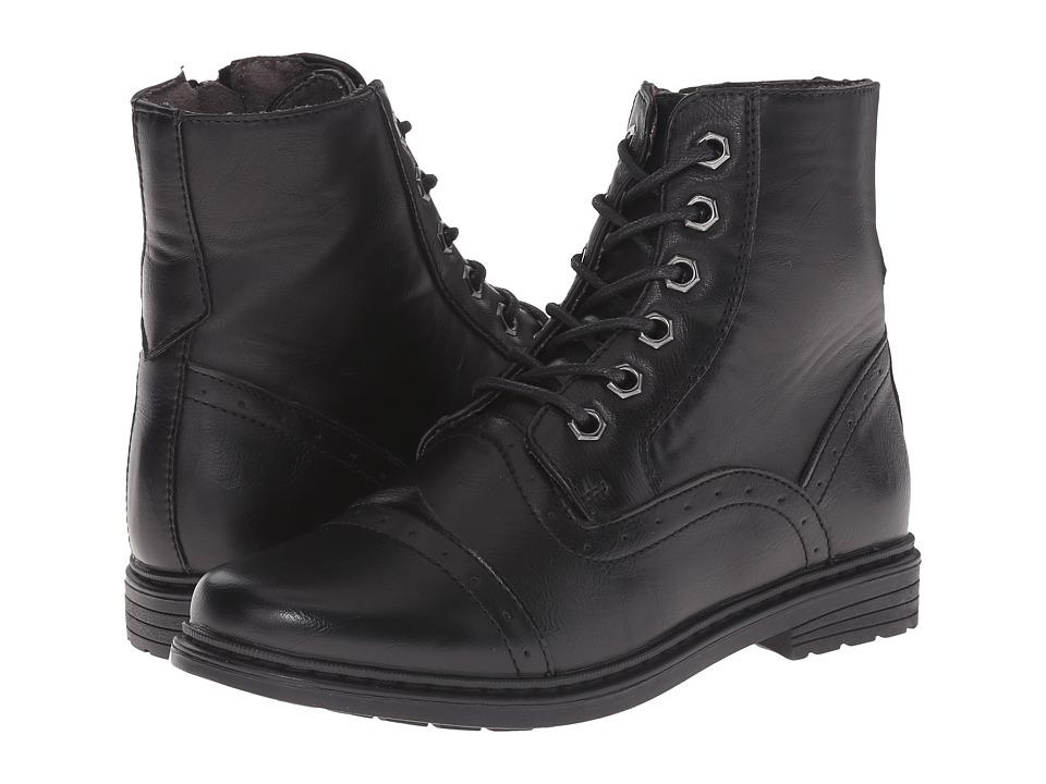 Steve Madden Kids - Troop (Toddler/Little Kid/Big Kid) (Black) Boys Shoes