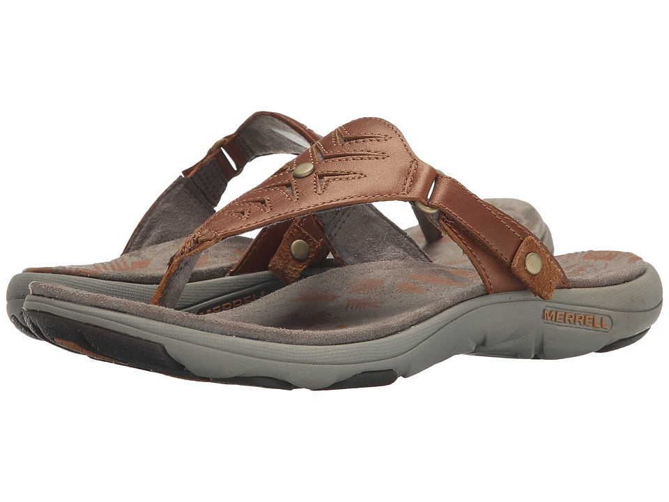 Merrell - Adhera Thong (Tan) Women
