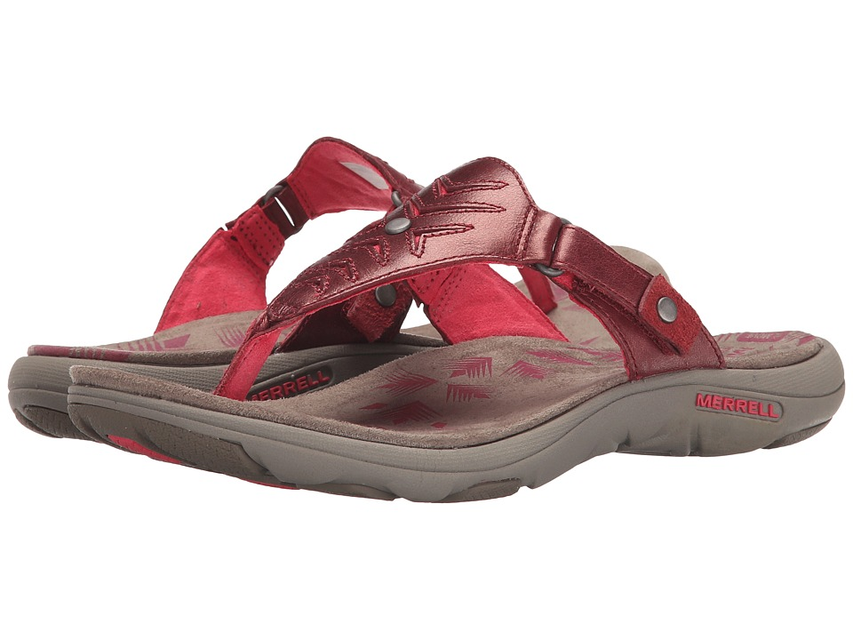 Merrell - Adhera Thong (Cranberry) Women's Shoes