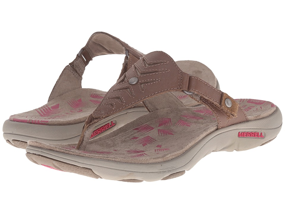 Merrell - Adhera Thong (Brown) Women's Shoes