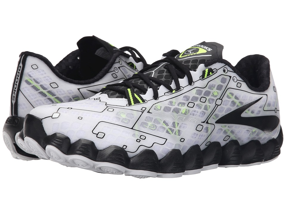 Brooks - Neuro (White/Black/Nightlife) Men's Running Shoes