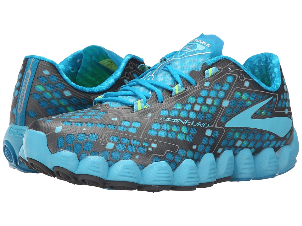 ae2aa47a0ab48 UPC 762052951456 product image for Brooks - Neuro (Atomic  Blue Bluefish Nightlife) UPC 762052951456 product image for Women s Brooks   Neuro  Running Shoe ...