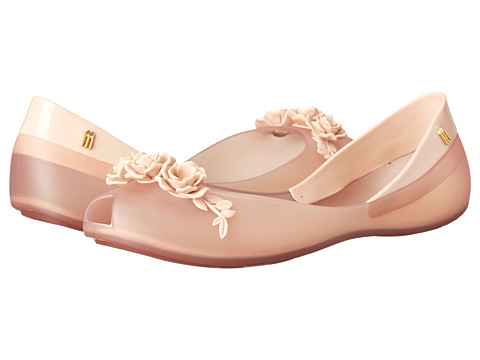 Melissa Shoes - AH + FLOWER QUEEN (Beige) Women
