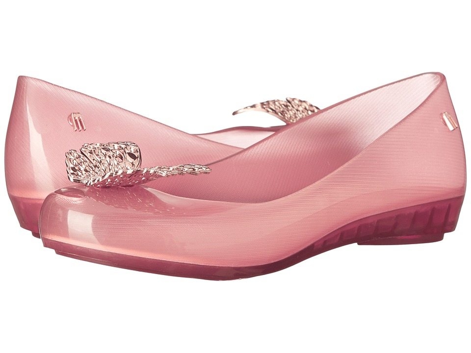 Melissa Shoes - Ultragirl Cinderella (Light Pink) Women's Flat Shoes