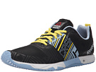 Reebok Crossfit Sprint 2.0 (Black/Denim Glow/Stinger Yellow/White)