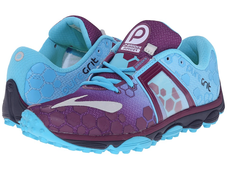 Brooks - PureGrit 4 (Phlox/Aquarius/Peacoat) Women's Running Shoes