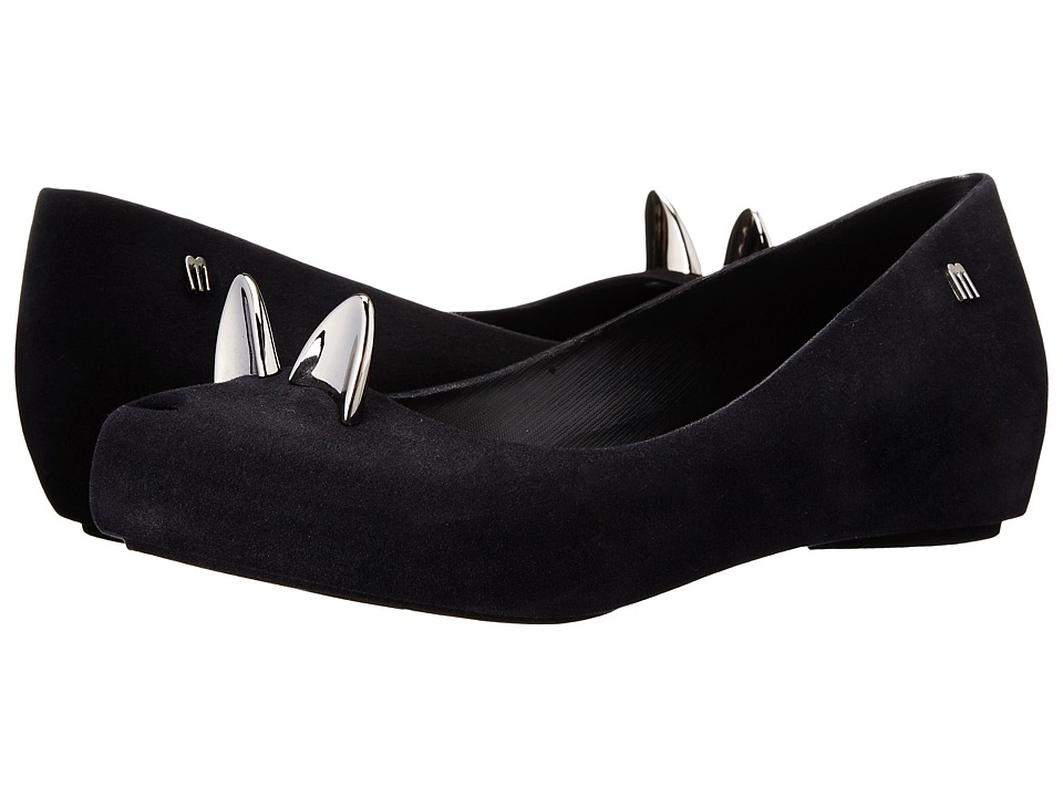 Melissa Shoes - Ultragirl Cat (Black) Women's Flat Shoes