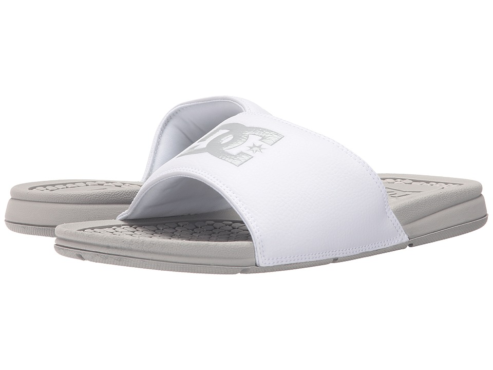 DC - Bolsa (Grey/White) Men's Sandals