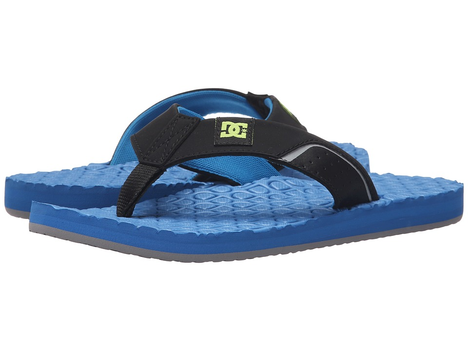 DC - Kush (Bright Blue) Sandals