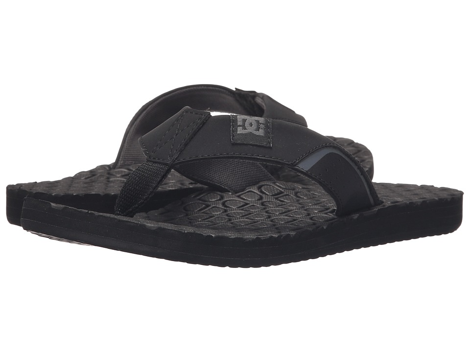 DC - Kush (Black) Sandals