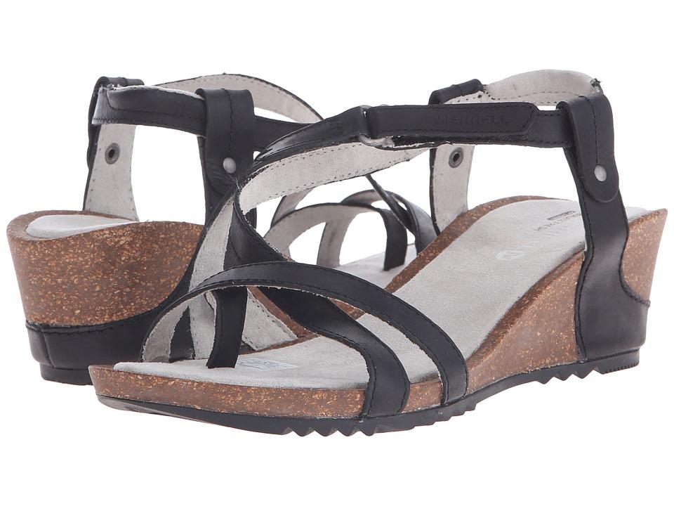 Merrell - Revalli Aura Post (Black) Women's Shoes