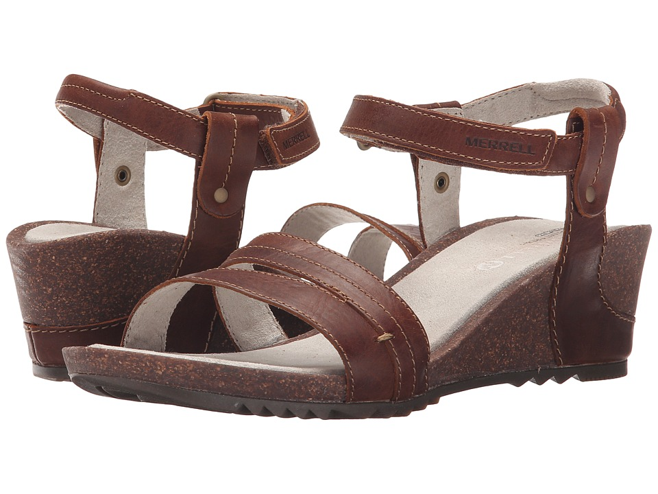 Merrell - Revalli Aura Strap (Dark Tan) Women's Shoes