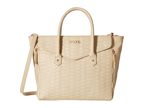 XOXO - Quilted Tote (Nude) Tote Handbags