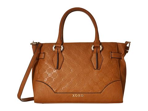 XOXO - Embossed Tote (Camel) Tote Handbags