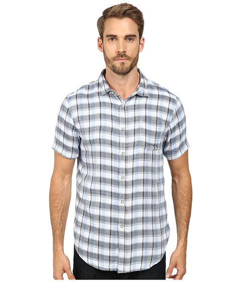 J.A.C.H.S. - Woven Button Down Shirt (Blue) Men