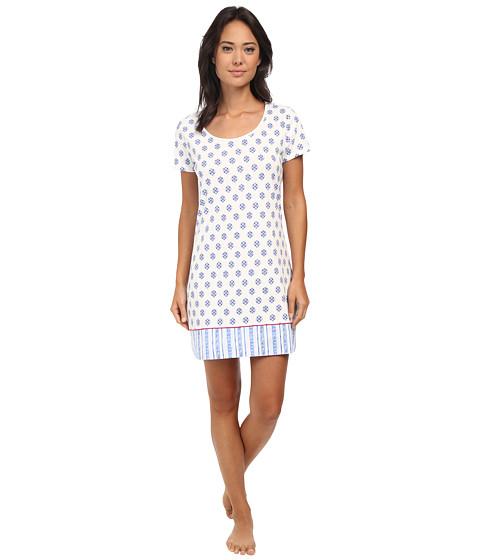 Jockey - Geo Print Sleepshirt (Talis Geo) Women's Pajama