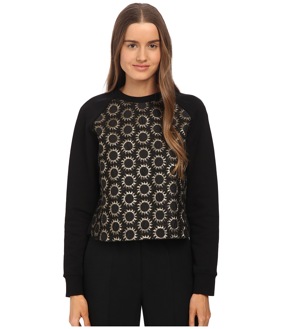 RED VALENTINO - Sun Jacquard Sweatshirt (Nero) Women