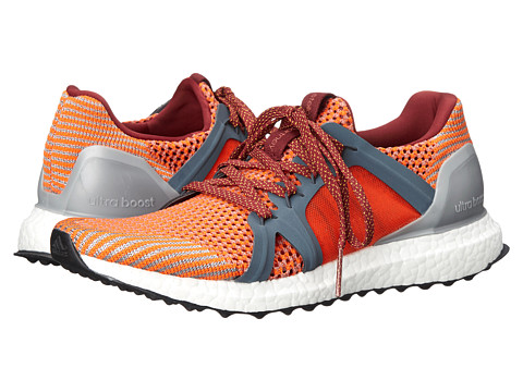 adidas by Stella McCartney - Ultra Boost - Knit (Firethorn-SMC/Bold Onix/Yellow Cab) Women's Shoes