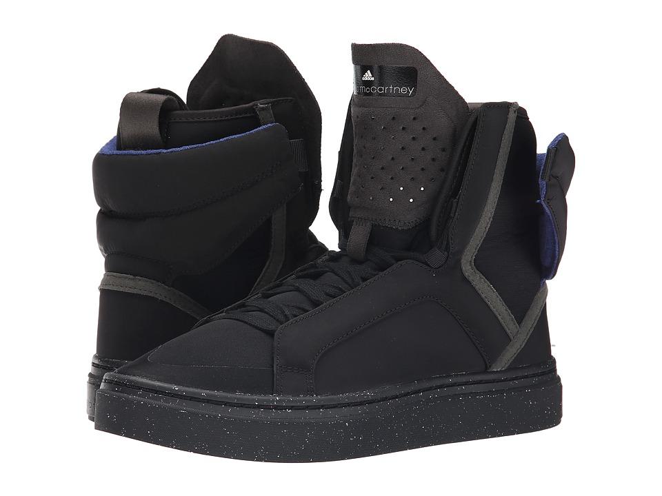 adidas by Stella McCartney - Mid Cut (Black/Black/Gum) Women's Shoes
