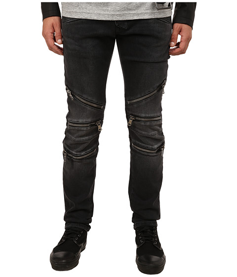 Pierre Balmain - Zipper Jeans (Black) Men
