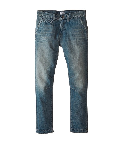 Armani Junior - Light Wash Fashion Denim w/ Low Rise (Big Kids) (Denim) Boy's Jeans