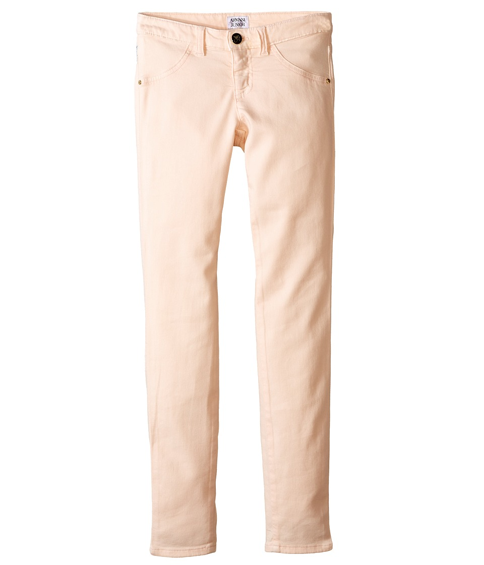 Armani Junior - Basic Stretch Jegging in Pink (Big Kids) (Pink) Girl