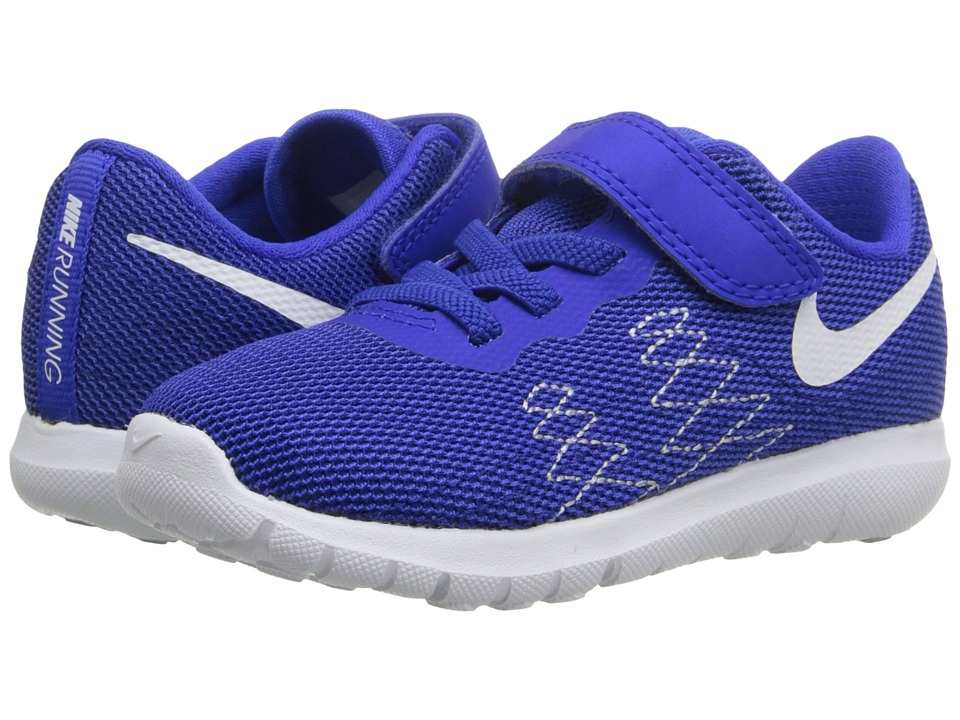 Nike Kids Flex Fury 2 (Infant/Toddler) (Racer Blue/Wolf Grey/Deep Royal Blue/White) Boys Shoes