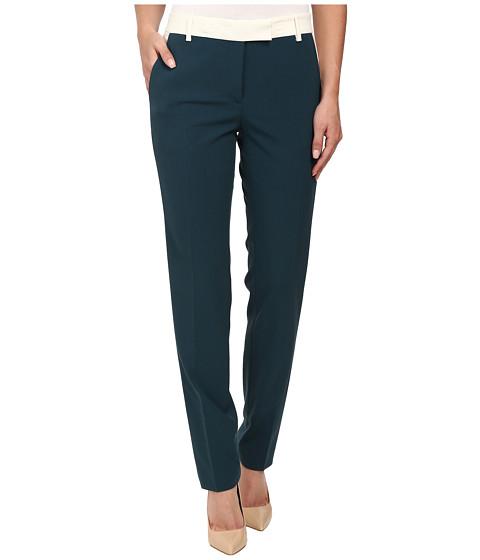 Anne Klein - Tuxedo Pants (Mallard Green) Women