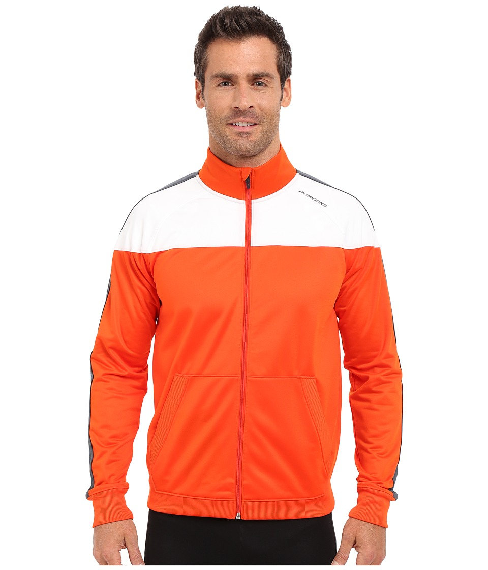 Brooks - Rally Jacket (Desert/White) Men's Coat