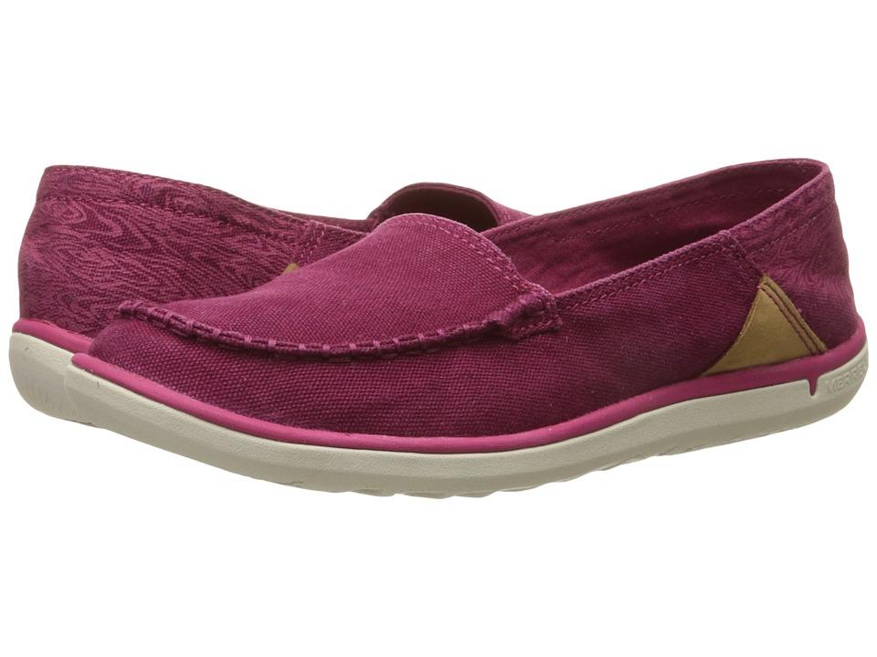 Merrell - Duskair Moc (Beet Red) Women's Shoes