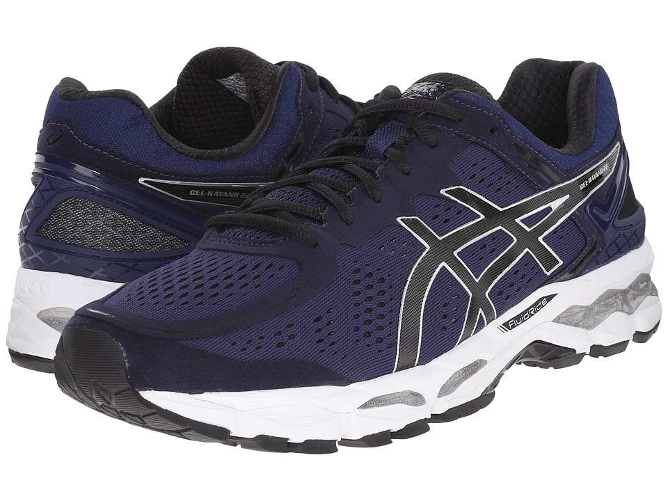 ASICS - GEL-Kayano 22 (Mediterranean/Black/Copper) Men's Running Shoes