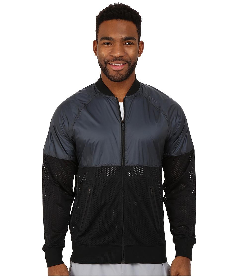 Brooks - Run-Thru Jacket (Black/Asphalt) Men's Coat