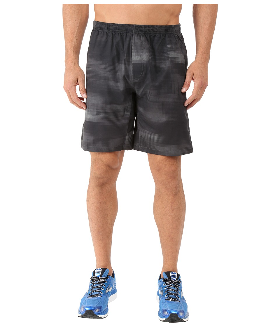 Brooks - Rush 9 Shorts (Heather Asphalt Haze) Men's Shorts