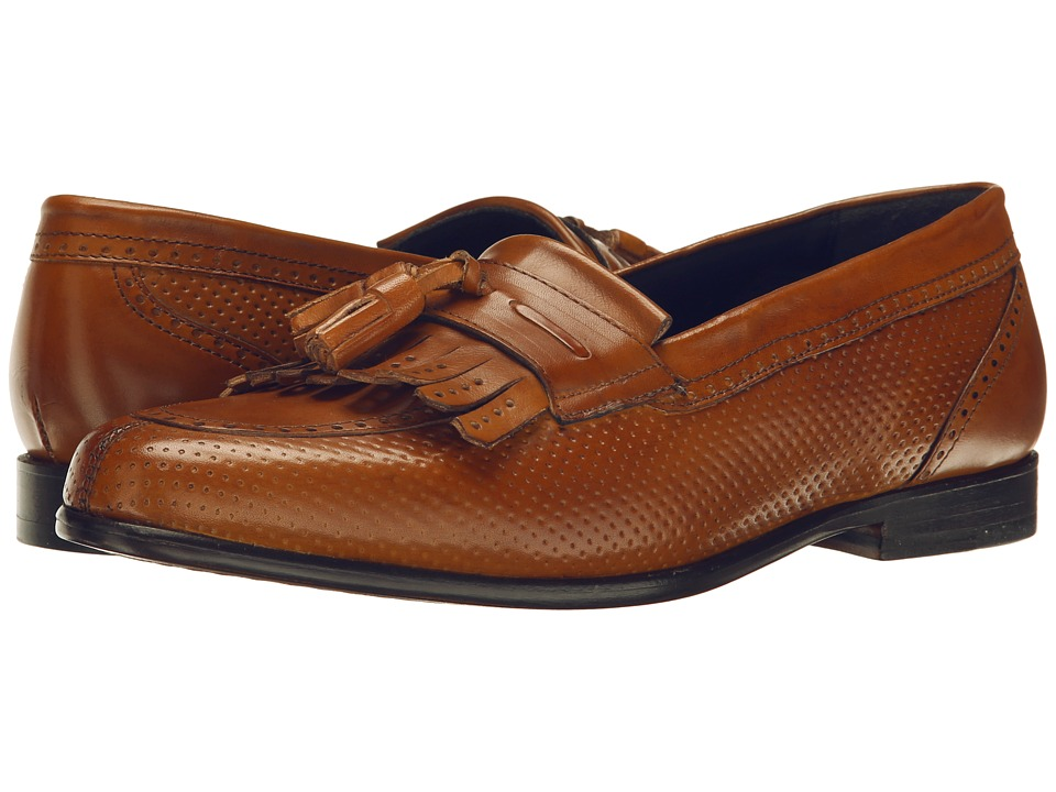 Messico - Roman (Honey Leather) Men's Dress Flat Shoes