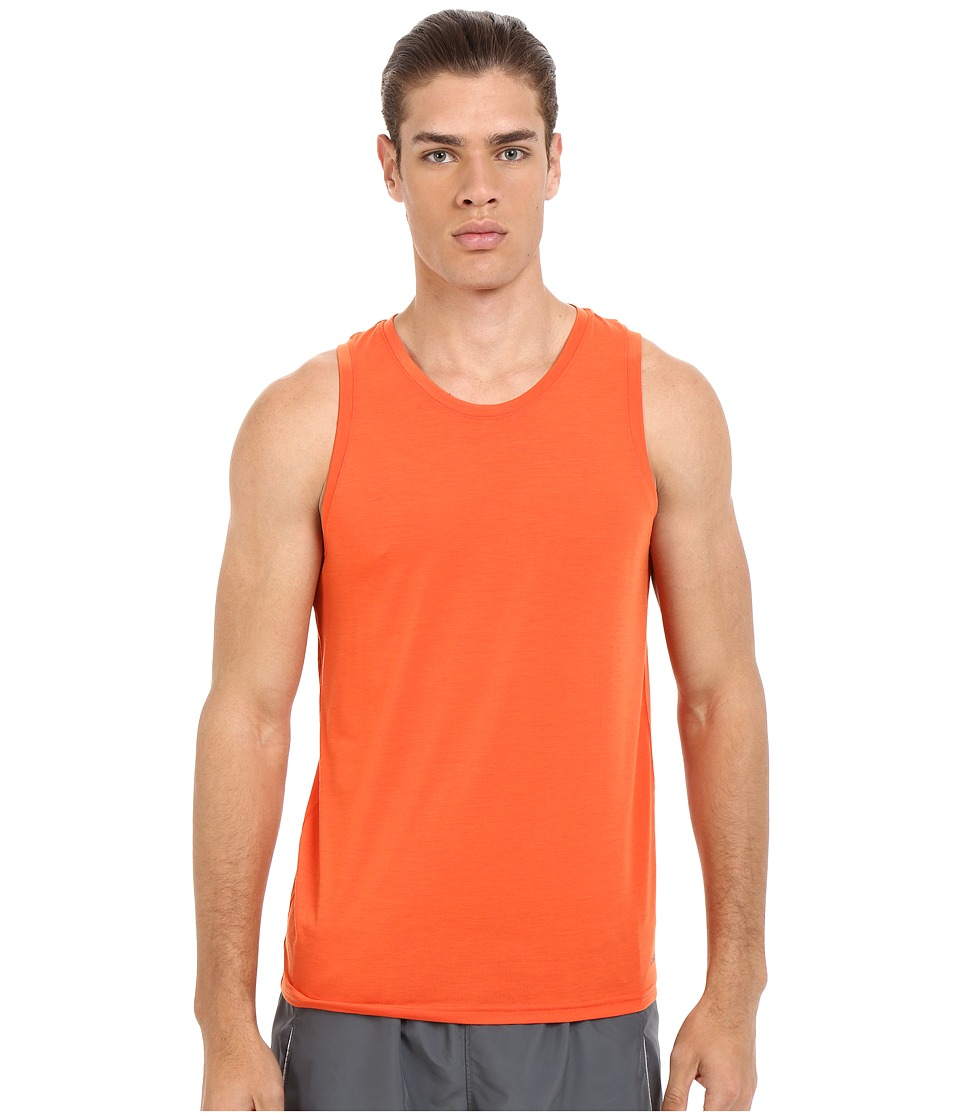 Brooks - Distance Tank Top (Heather Desert) Men's Sleeveless