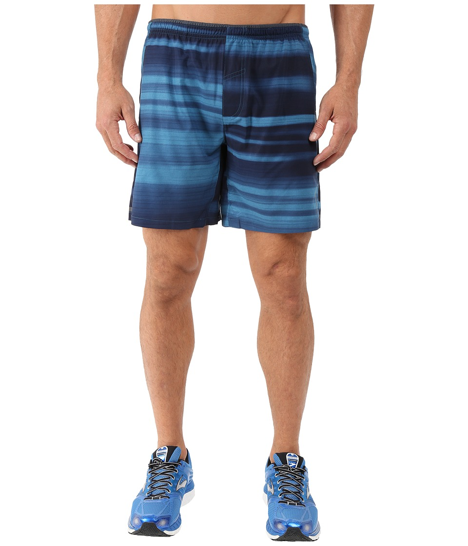 Brooks - Sherpa 7 Shorts (Heather River Blur) Men's Shorts