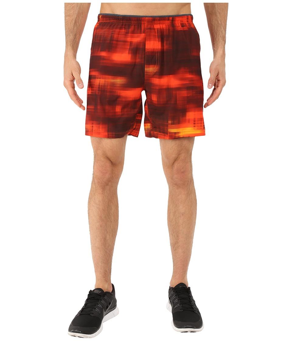 Brooks - Sherpa 7 Shorts (Heather Desert Haze) Men's Shorts