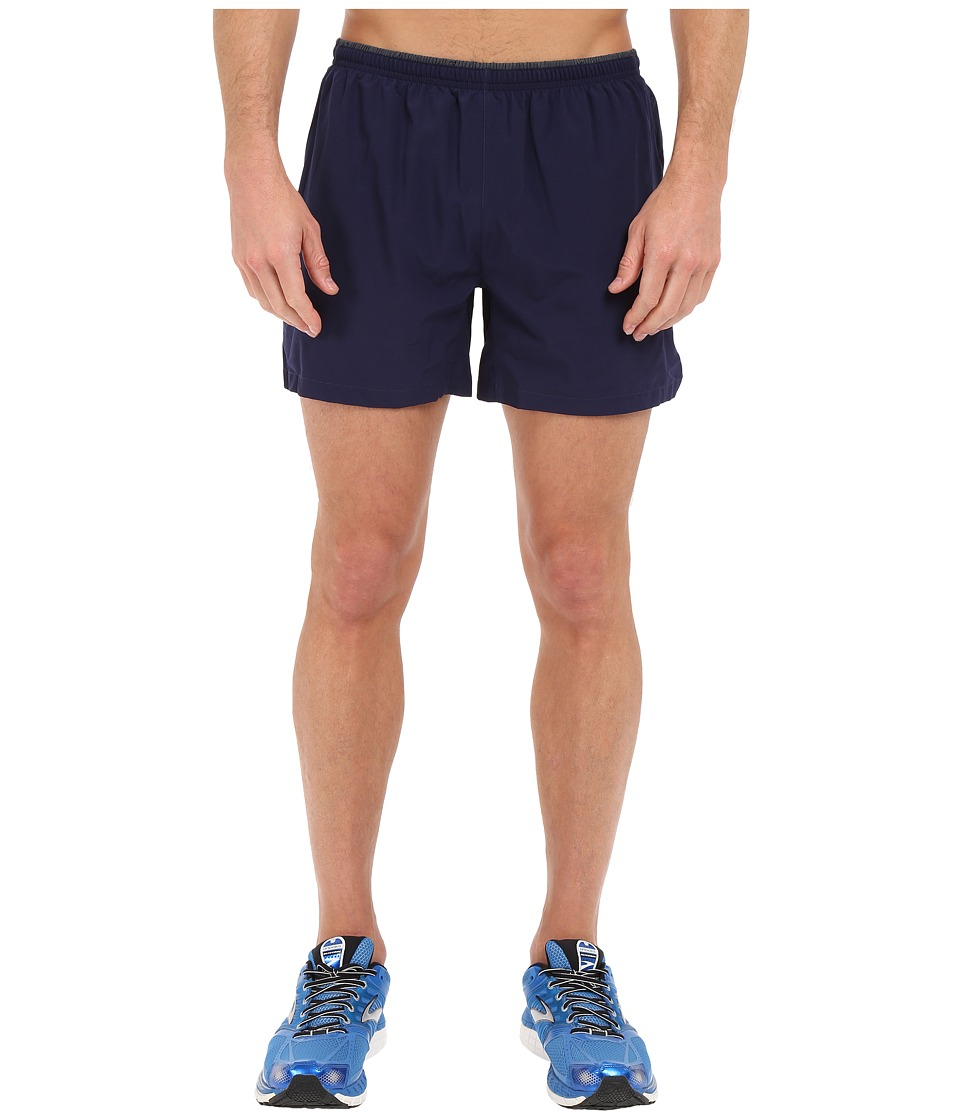 Brooks - Sherpa 5 Shorts (Navy) Men's Shorts